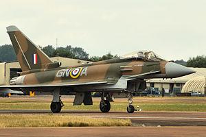 James Brindley Nicolson - Image: Typhoon RIAT 2015 (20742048059)