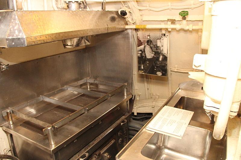 Boot Küche
