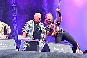 U.D.O. with Musikkorps der Bundeswehr – Wacken Open Air 2015 04.jpg
