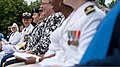 U.S. Navy Rear Adm. Nora W. Tyson, second from left, the vice director of the Joint Staff, attends a Memorial Day ceremony at the Women in Military Service for America Memorial in Arlington, Va., May 27, 2013 130527-D-KC128-004.jpg