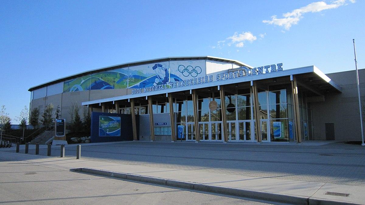 Thunderbird Sports Centre - Wikipedia