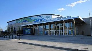 Thunderbird Sports Centre indoor sports arena at the University of British Columbia