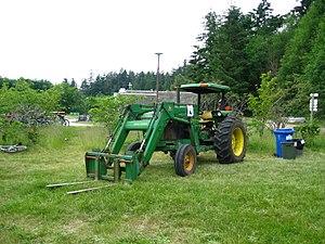 UBC Farm - Image: UBC Farm tractor
