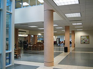 Shields Library - Inside of the Peter J. Shields Library