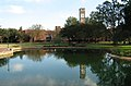 UNCP Lowry Bell Tower from the Water Feature.jpg