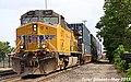 UP 6377 Leads EB Intermodal Olathe, KS 5-18-17 (34467618010).jpg