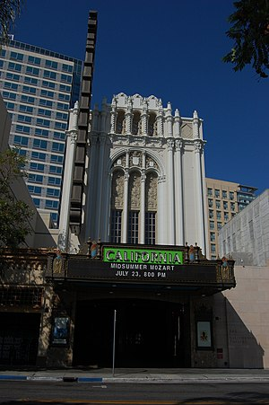 Packard Humanities Institute - The historic California Theatre, (Fox Theatre)