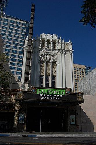 Packard Humanities Institute - The historic California Theatre, (Fox Theatre)