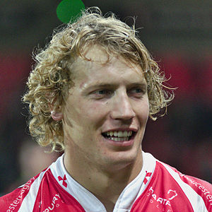 Billy Twelvetrees - Image: USO Gloucester Rugby 20141025 Billy Twelvetrees 2