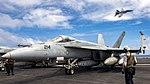USS Carl Vinson conducts flight operations. (32625855846).jpg