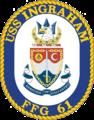USS Ingraham (FFG-61) insignia, 1989.png