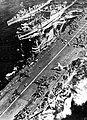 USS Midway (CVA-41) with Polaris (AF-11) and Twining (DD-540) in 1955.jpg