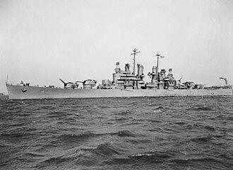 USS Montpelier (CL-57) - USS Montpelier