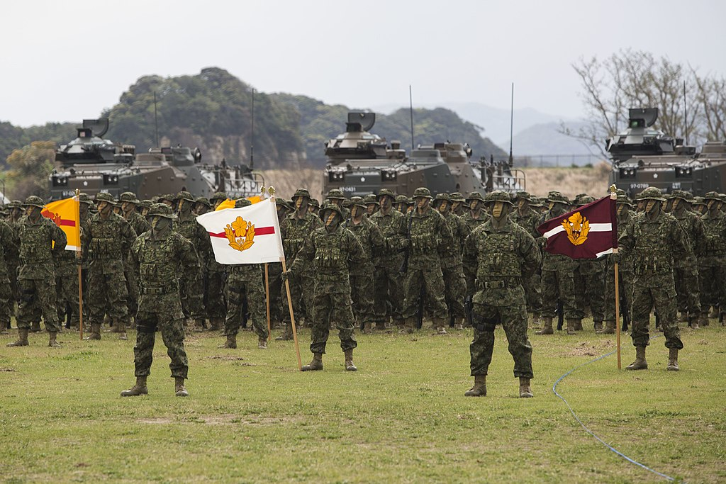 US Marine Corps photo 180407-M-AA671-007 Commander MARFORPAC attends Japan's newest amphib unit inauguration.jpg