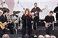 US Navy 040521-N-0576H-001 Country singer, Wynonna Judd performs in concert at the Pentagon for military and civilian personnel.jpg