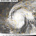 US Navy 051019-N-1234W-001 Satellite image provided by the U.S. Naval Research Laboratory, Monterey, Calif., showing the status of Hurricane Wilma.jpg
