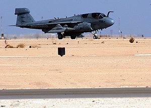 VAQ-141 - VAQ-141 EA-6B Prowler in Iraq at Al Asad Air Base in 2005