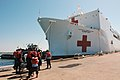 US Navy 060510-N-1928H-099 The Military Sealift Command (MSC) hospital ship USNS Comfort (T-AH 20) arrives at Naval Station Norfolk, for the last phase of her training mission.jpg