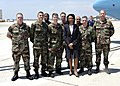 US Navy 070523-N-7575W-005 Secretary of State Condoleezza Rice pauses for a photo opportunity with Explosive Ordnance Disposal Mobile Unit (EODMU) 3 Detachment.jpg