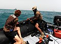 US Navy 100422-N-0553R-124 Sailors conduct unmanned underwater vehicle recovery operations.jpg