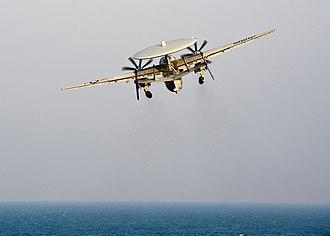 Carrier Strike Group 3 - Final flight over Iraq (18 December 2011)