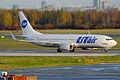 UTair, VQ-BRP, Boeing 737-8LP (16269942639).jpg