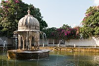 Udaipur-Sahelion Ki Bari-03-Garden of the rain without clouds-20131013.jpg