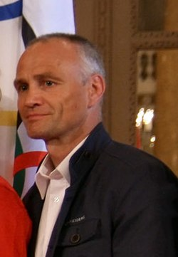 Udo Quellmalz - Olympic Games 2012 - reception at Hofburg c20 judokas (cropped).jpg