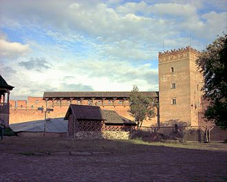 Liubartas - Lutsk Castle, Ukraine, built by Liubartas and improved by Vytautas the Great. During Lithuanian rule the city started to prosper