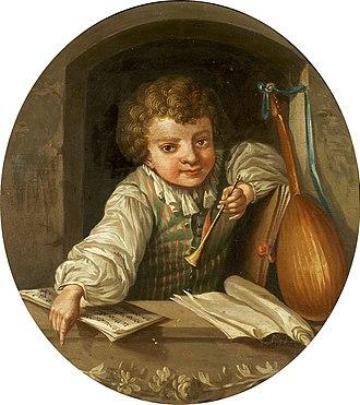 Ulrika Pasch - Boy with a flute