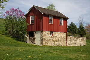 Croyle Township, Cambria County, Pennsylvania - Elias Unger House at the Johnstown Flood National Memorial