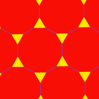 Truncated hexagonal tiling - Image: Uniform polyhedron 63 t 01