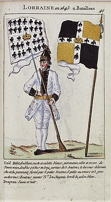 Image illustrative de l'article Régiment de Lorraine (1766)