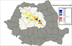 Unitarieni Transilvania 1850.png