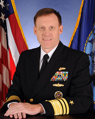 United States Tenth Fleet - Image: United States Navy Vice Admiral Michael S. Rogers