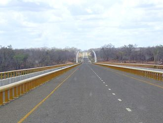 Mozambique–Tanzania relations - Unity Bridge connecting Mozambique and Tanzania
