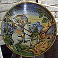 Urbino, antonio patanazzi, san crescentino e il drago, 1560-1584 ca..JPG