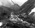 Utsikt över dalen med quichuaindianska odlingar. Sydamerika, Quiaca-dalen. Peru - SMVK - 002469.tif