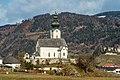 Völkermarkt Sankt Georgen am Weinberg Pfarrkirche hl. Georg S-Ansicht 03012019 6476.jpg