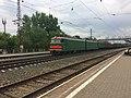 VL10 on station Ostrovskaya (Novokuznetsk).jpg