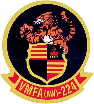VMFA(AW)-224 - Image: VMFA 224 insignia