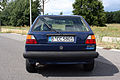 VW Golf II 1.6 Pasadena 1991, back.JPG