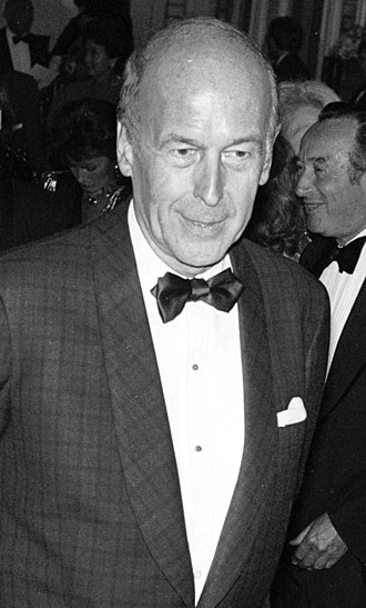 Valéry Giscard d'Estaing - Valéry Giscard d'Estaing in 1986