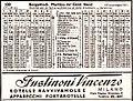 Val Brembana railway, 1945 timetable.jpg