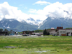 Skyline of Valdez, Alaska
