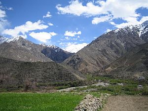 Vallée du Pandjchir - Mai_2006