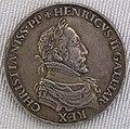 Valois, enrico II, pezzo commemorativo in argento dorato, 1558.JPG