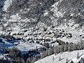 Valtournenche from ski run Reine Bianche (Gran Pista di Valtournenche) - panoramio (1).jpg
