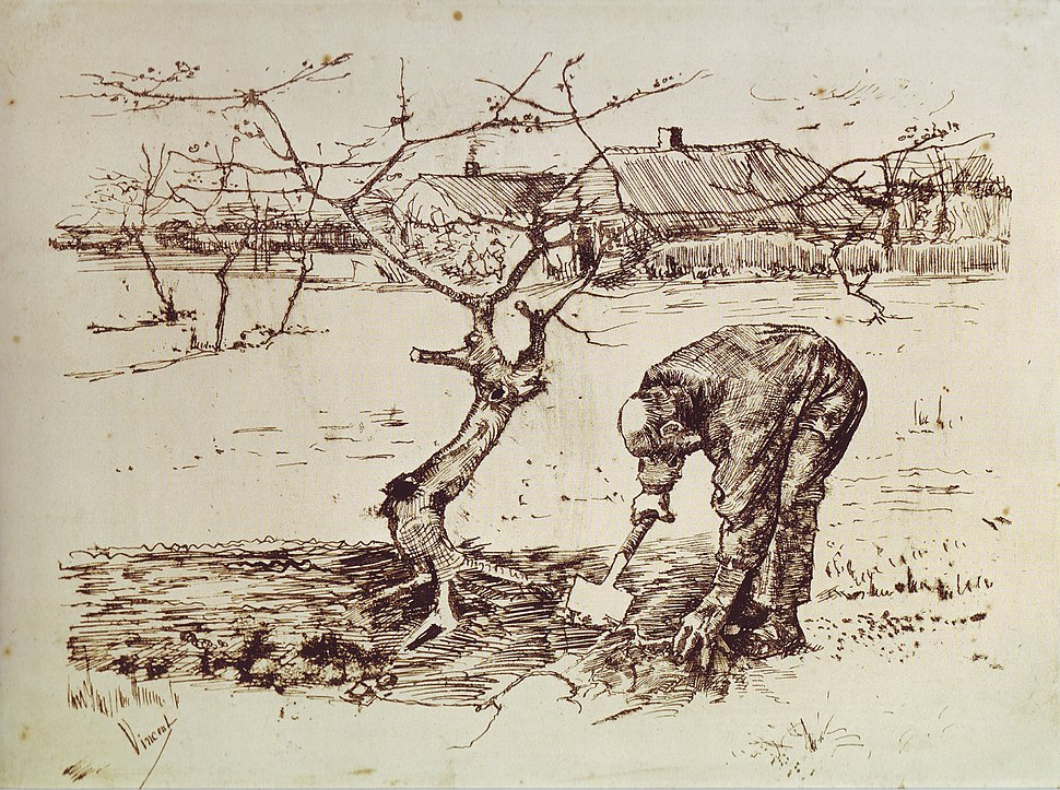 Van Gogh - In the Orchard - 1883