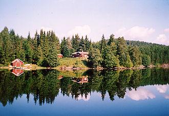 Aust-Agder - Vegår in 2001